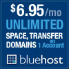 Sign up for web hosting with Blue Host!