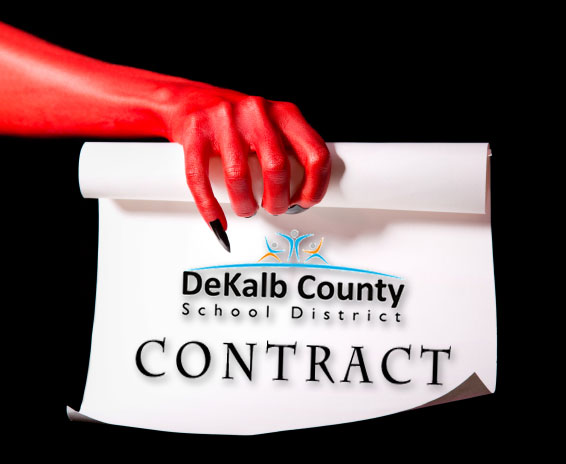 If You Sign This Contract … | dekalb school watch two