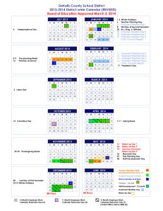 BOARD-REVISED-2013-2014-Calendar---Modified-Traditional-Calendar